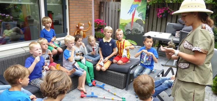Gezocht enthousiaste jonge medewerk(st)er voor Jungle feestjes (oproepbasis)
