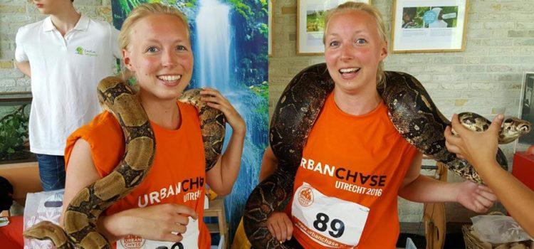 Exotus Serpenti bij Urban Chase Utrecht